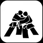icon_judo_schwarz_auf_weiss_250px